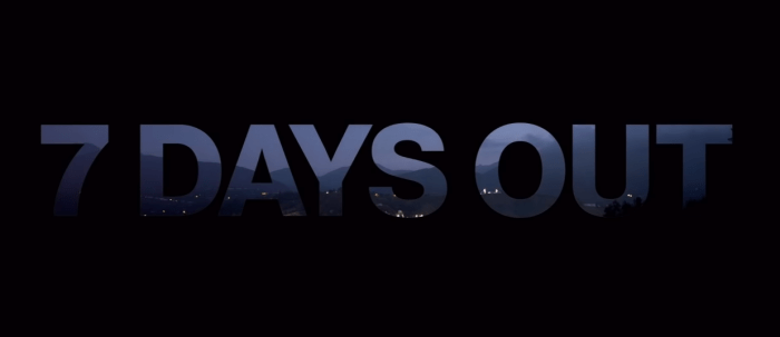7 days out trailer