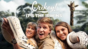 Crikey! Its the irwins renewed for season 2