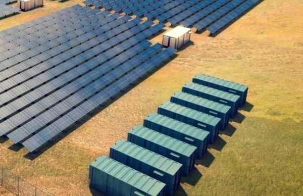 World's biggest solar + battery storage plant ready to ...