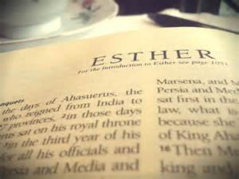 esther bible