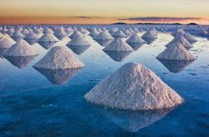 Salt is born