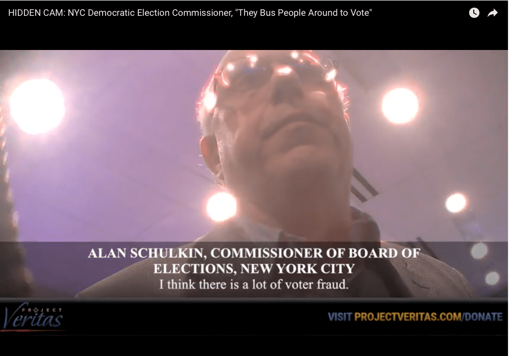 Project Veritas exposes voter fraud in NYC