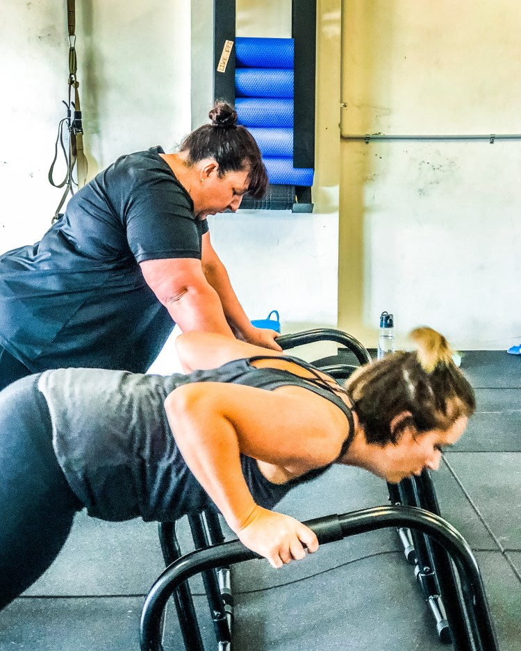 Personal training strength camp