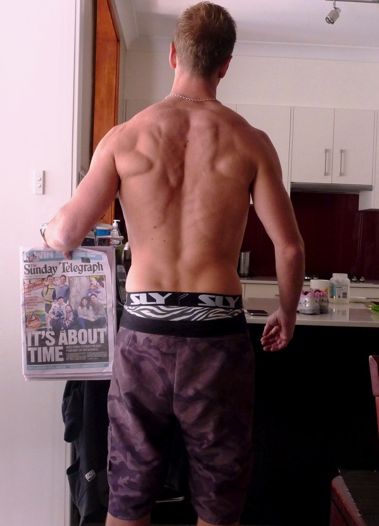 my transformation after photo - back view