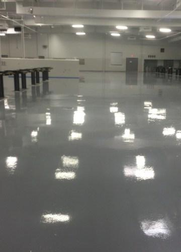Epoxy Floor Coating and Polishing