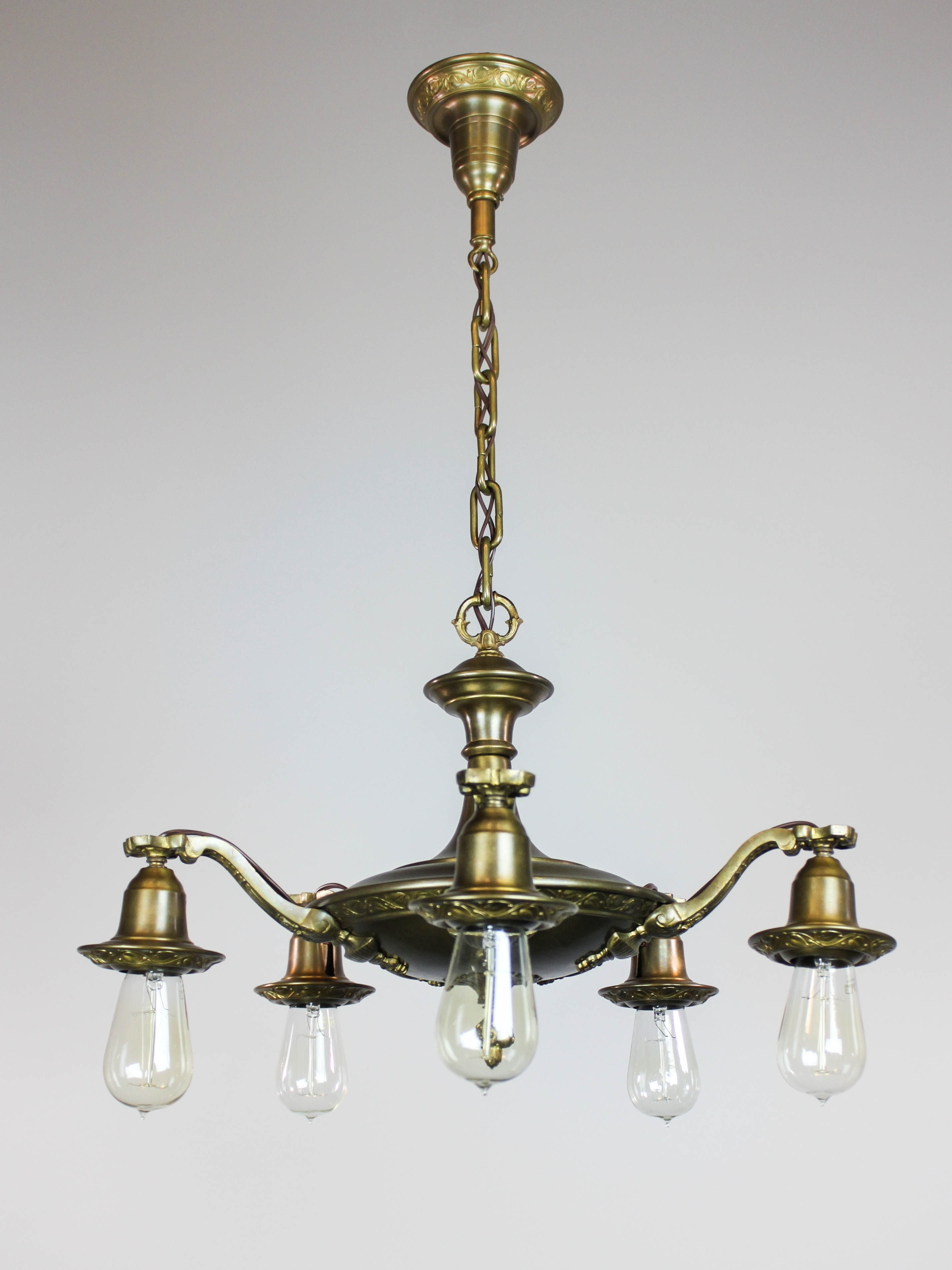 Bare Bulb Pendant Light Fixture