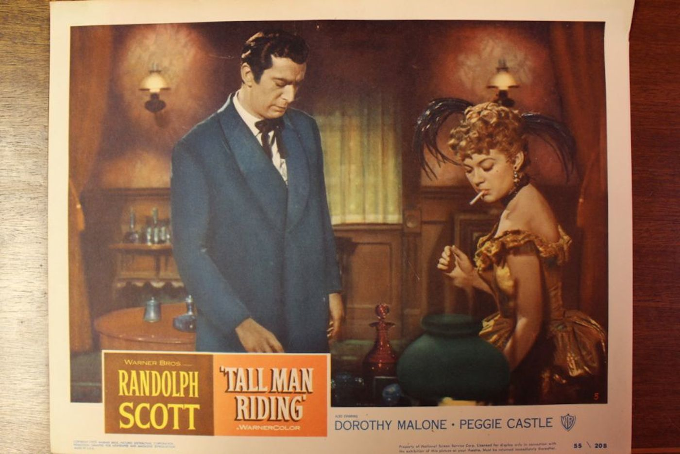 Tall Man Riding Movie Poster Amp 3 Lobby Cards