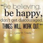 believing, happy