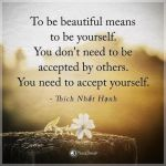 beautiful, accept, yourself