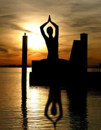 Meditation, Yoga Pose, Stillness, Peaceful, Water, Journaling