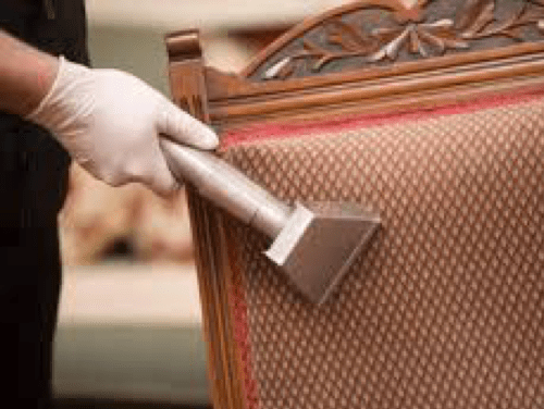 Upholstery Cleaning at Re-New-It Service Systems