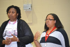 Tamika D. Holmes and T. Marie King of Precious Pearls of Promise