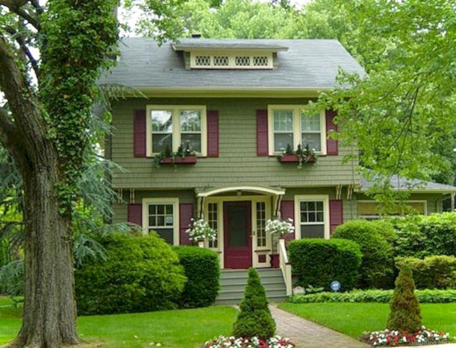 Best Exterior House Paint Color Combinations 13