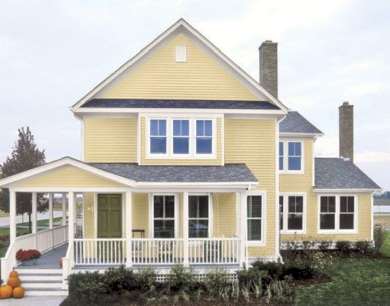 Best Exterior House Paint Color Combinations 21