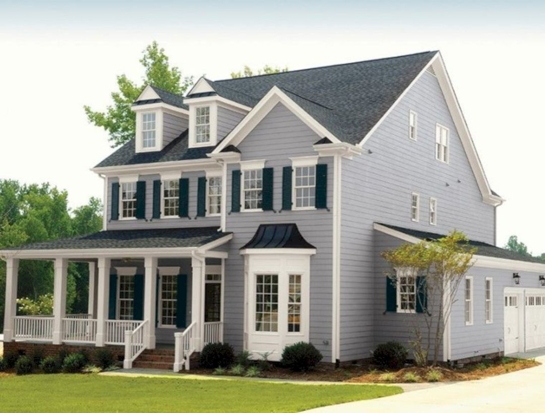 Best Exterior House Paint Color Combinations 26