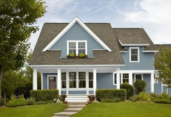 Best Exterior House Paint Color Combinations 28
