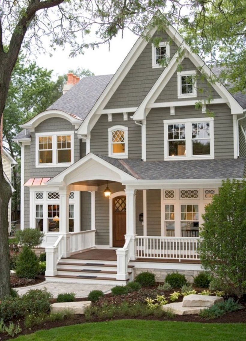 Best Exterior House Paint Color Combinations 31