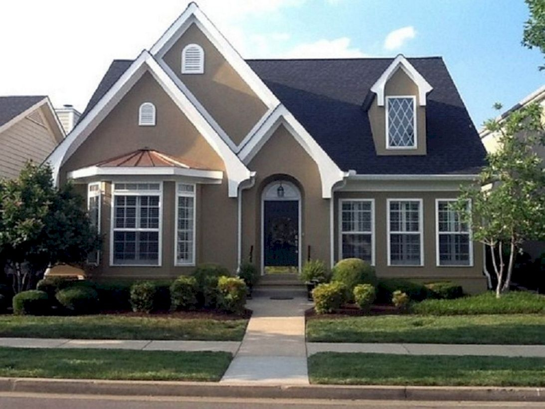 Best Exterior House Paint Color Combinations 33