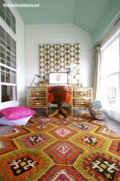 Bohemian Home Office Decor To Inspiration 02