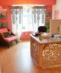Bohemian Home Office Decor To Inspiration 04