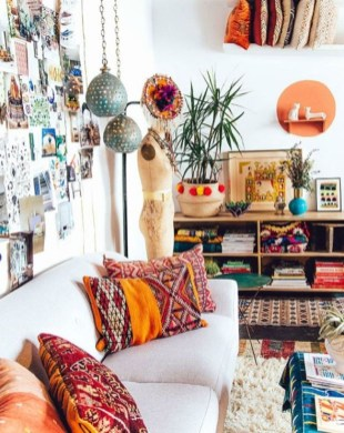 Bohemian Home Office Decor To Inspiration 06