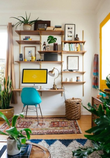 Bohemian Home Office Decor To Inspiration 13