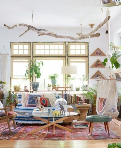 Bohemian Style Home Decor Ideas 02