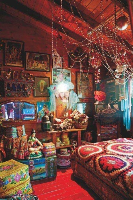 Bohemian Style Home Decor Ideas 31
