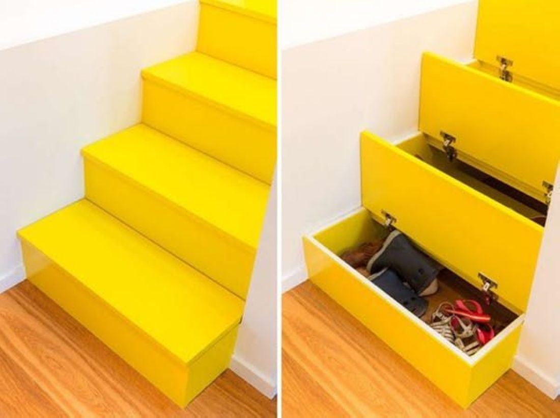 Clever Hidden Storage Solutions Ideas That Inspirer 28