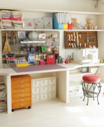 Craft Room Storage Projects For Your Home Office 13
