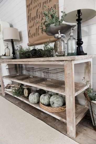 DIY Rustic Wood Furniture Ideas 11