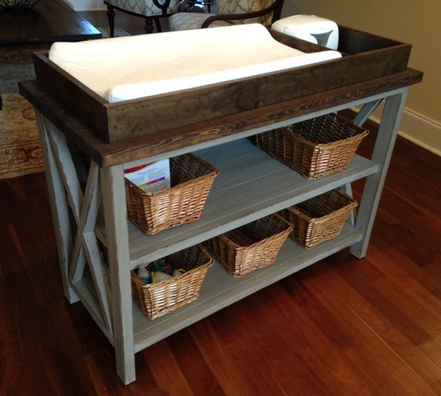 DIY Rustic Wood Furniture Ideas 15