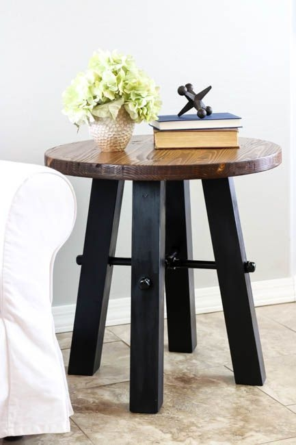 DIY Rustic Wood Furniture Ideas 16