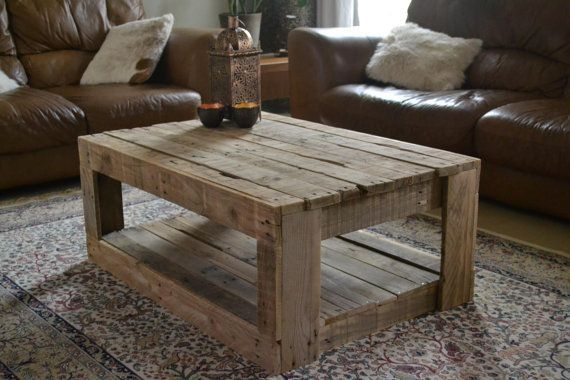 DIY Rustic Wood Furniture Ideas 18