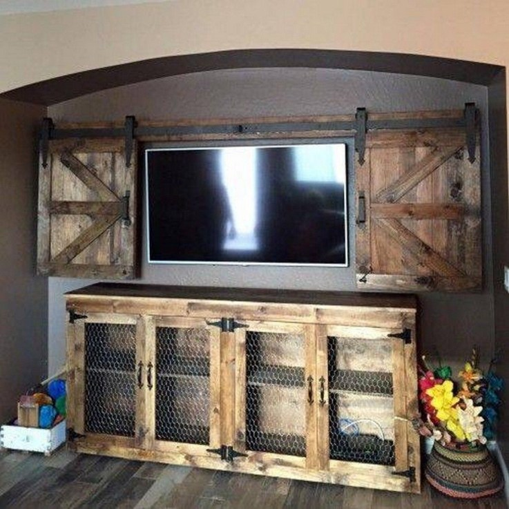 DIY Rustic Wood Furniture Ideas 19