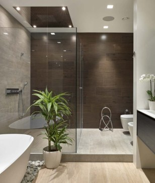 Lovely House Plants In The Bathroom09