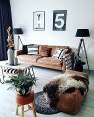 Neat And Cozy Living Room Ideas For Small Apartment 43