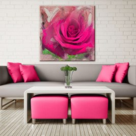 Pink And Gray Modern Living Room Decor 14