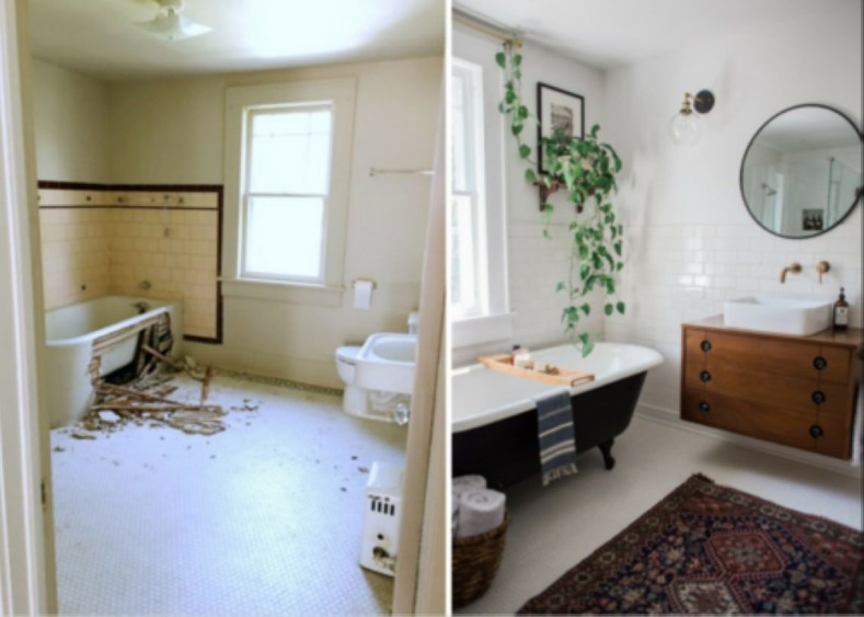 Small Bathroom Makeovers That Give Us Hope 38