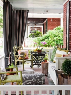 Ways To Create A Relaxing Porch For Big Family 04