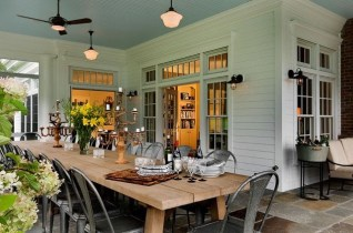 Ways To Create A Relaxing Porch For Big Family 08