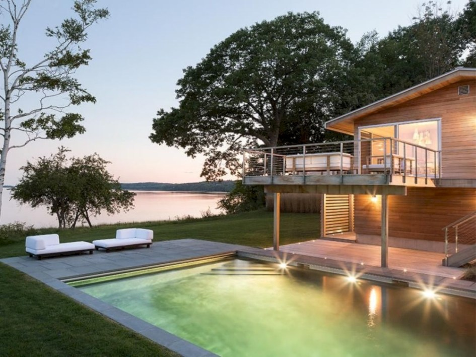 Modern Airy Home Design With Amazing Lake Views 02