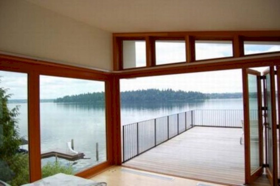 Modern Airy Home Design With Amazing Lake Views 05