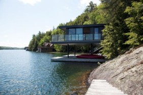 Modern Airy Home Design With Amazing Lake Views 06