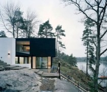 Modern Airy Home Design With Amazing Lake Views 20