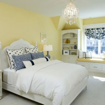 Yellow Bedroom For Your Child's Room Idea To Sleep Feels Warm 01
