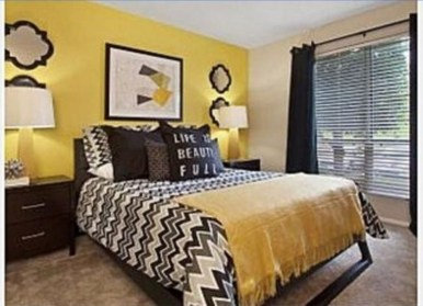 Yellow Bedroom For Your Child's Room Idea To Sleep Feels Warm 05