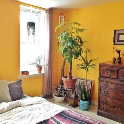 Yellow Bedroom For Your Child's Room Idea To Sleep Feels Warm 42