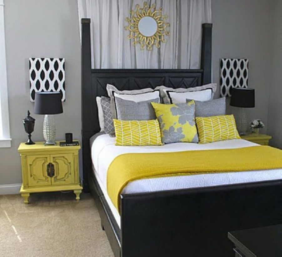 Yellow Bedroom For Your Child's Room Idea To Sleep Feels Warm 47