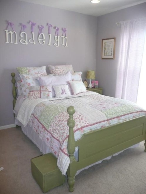 Check And Try Wall Decor In Your Daughter Bedroom 14